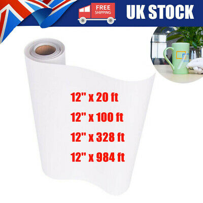 £6.09 • Buy Clear Vinyl Application Tape For Car Wall Craft Art Decal Transfer Paper Roll