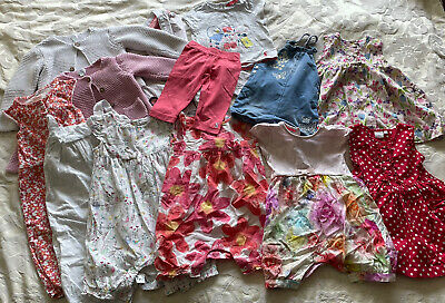£2 • Buy Summer Baby Dress Clothes Bundle 9-12 Month Blue Zoo Ted Baker John Lewis Joules