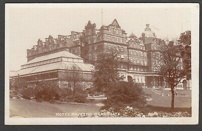 £6.99 • Buy Postcard Harrogate In North Yorkshire The Hotel Majestic Early RP By Bramley