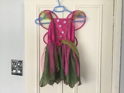 £2.99 • Buy Christy's Dress Up Mulberry Fairy Dress With Wings Costume 4 - 6 Years