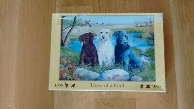 £3.25 • Buy House Of Puzzles Hop 1000 Piece Jigsaw  (Three Of A Kind )