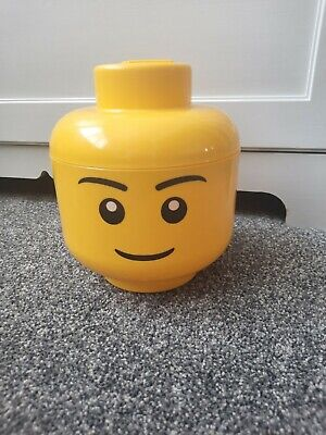 £17.99 • Buy Lego Storage Head Tub Container Official Lego