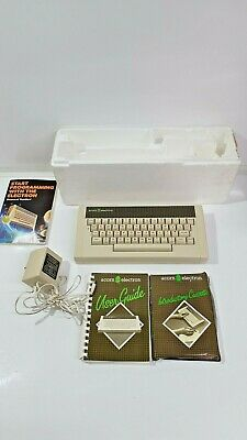 £79.99 • Buy Vintage Acorn Electron Computer With Software, Poly & User Guide