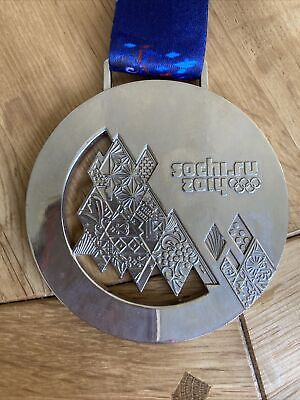 £3.99 • Buy Replica 2014 Winter Sochi Olympic Game World Champions Silver Medal