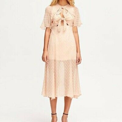 AU99.95 • Buy Alice McCALL Moon Talking Midi Dress 12, RRP $495, Worn Once, Perfect Condition