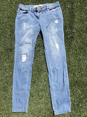 £4.99 • Buy Ladies Next Tall Relaxed Skinny Jeans Blue Size 10L