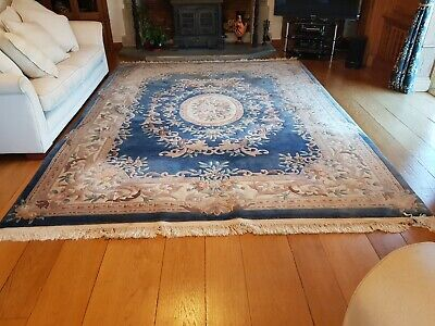 £80 • Buy Chinese Rug 12x9ft Blue