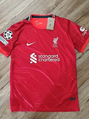 £30 • Buy Liverpool 2021/22 Home Shirt With Champions League Badge Size XL