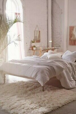 £350 • Buy Urban Outfitters Boho Double Bed/loft Bed, White (RRP £650) Brand New & Boxed