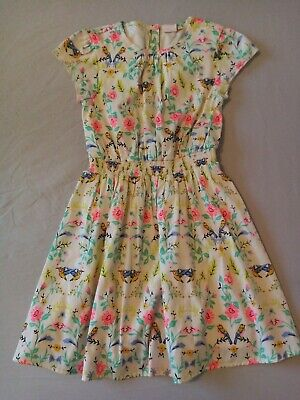 £4 • Buy Girls Blue Zoo Dress Age 8 Summer Lined