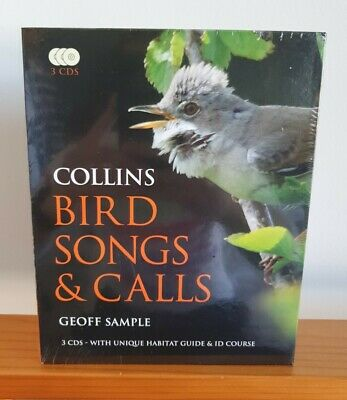 £80 • Buy Geoff Sample; Collins Bird Songs And Calls (Book & 3 CDs) Brand New & Sealed