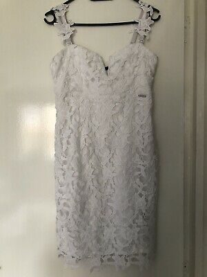 £25 • Buy Gorgeous White Coctail Dress From Guess