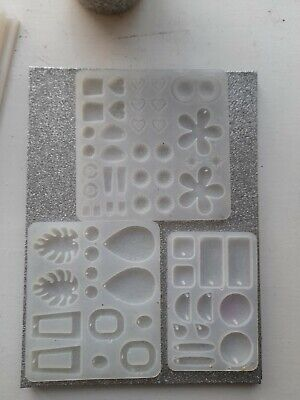 £2.10 • Buy Epoxy Resin Casting Silicone Mold Kit Jewelry Making Pendant Craft Earrings