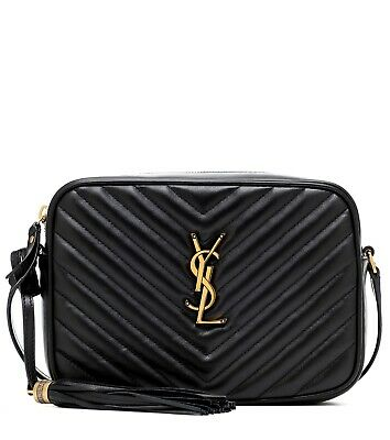 AU1600 • Buy YSL Saint Laurent - Lou Camera Bag In Black Quilted Leather - NEW - GENUINE