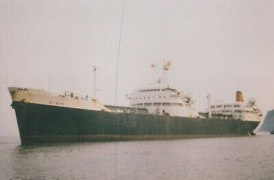 £0.75 • Buy Ship Photo Cargo Vessel 'alinda' Shipping Photograph Picture Freighter Tanker.