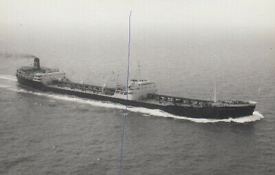 £1.25 • Buy Ship Photo Of Cargo Shipping Photograph Picture 'british Hussar' Bp Oil Tanker.