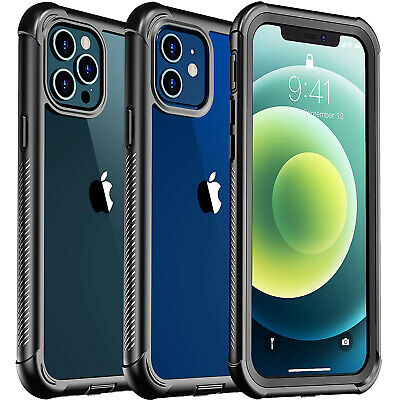 AU21.98 • Buy For IPhone 13 12 Mini 11 Pro Max XS Clear Case Full Body With Screen Protector