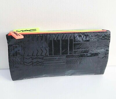 $17.72 • Buy MAC Black Fold-able Makeup Brush Bag / Pouch / Case, Large Size, Brand NEW