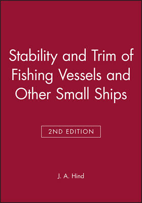 £42 • Buy Stability And Trim Of Fishing Vessels And Other Small Ships, Hind, J. A.,  Hardb