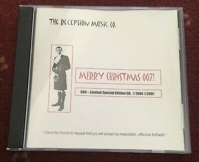 """£500 • Buy VERY RARE """"Merry Christmas 007"""" LIMITED SPECIAL EDITION (500) CD James Bond"""