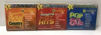 £12.31 • Buy 3 KARAOKE PARTY CD's - Hot Hits-Pop 80's-Hot Country **BRAND NEW SEALED**