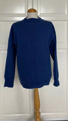£11.50 • Buy Traditional Guernsey Unisex LeTricoteur Jumper Size 42, Pure New Wool