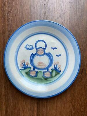 """$19 • Buy M A Hadley Pottery, 11"""" DINNER PLATE Duck"""