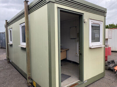 £4995 • Buy 20ft Site Office Container With Kitchen And Toilet Welfare Unit, Double Glazing