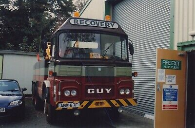 £1.25 • Buy Guy Truck Recovery Vehicle Photograph Oxford Bus Lorry Breakdown Picture Abw87f.