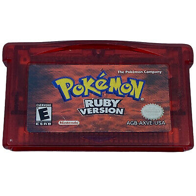 $84.99 • Buy Pokemon: Ruby Version (Game Boy Advance) Authentic GBA Cartridge Tested Saves