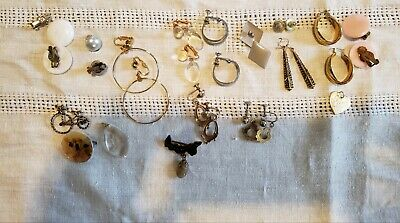 $ CDN30 • Buy Bulk Lot Vintage Costume Jewelry Earrings,Brooches,Necelaces Over 50 Pieces.