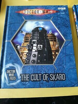 £3 • Buy Doctor WHO 2X DR WHO FILES BOOKS