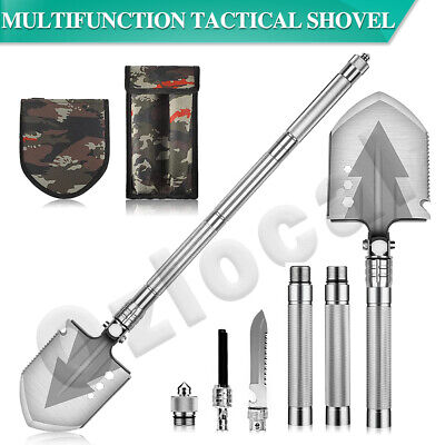 AU40.89 • Buy Multifunction Tactical Shovel Folding Camping Survival Emergency Tools Military