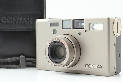 $ CDN2490.09 • Buy [Almost MINT W/ Case] Contax T3 Double Teeth Point & Shoot Film Camera Japan 227