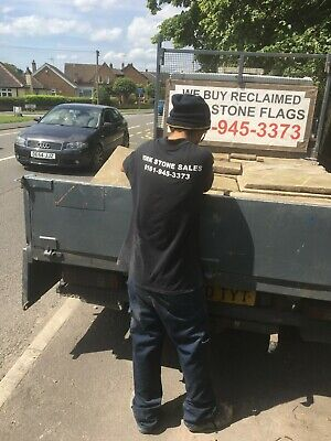 £73 • Buy Reclaimed York Stone Flags Bought & Sold