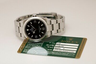 $ CDN9812.73 • Buy Rolex Explorer Ref 114270 36mm Automatic Watch Z Series With Card