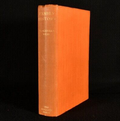 £91 • Buy 1932 Family History Vita Sackville-West First Edition