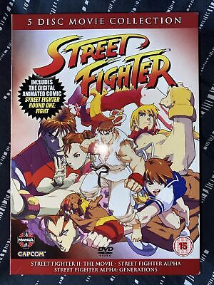 £30 • Buy Street Fighter Movie Collection (DVD, 2010, 5-Disc Set)