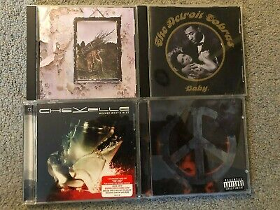 $ CDN16.17 • Buy Lot Of 8 Great Hard Rock/Metal CDs (See Pics And Description For Artists/Titles)