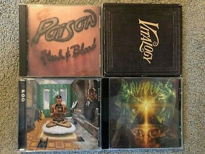 $ CDN14.93 • Buy Lot Of 8 Great Hard Rock/Metal CDs (See Pics And Description For Artists/Titles)