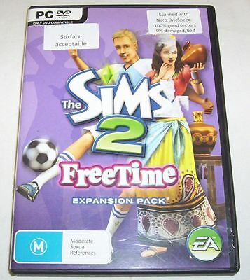 £5.28 • Buy The Sims 2 FreeTime Expansion Pack DVD Set For PC