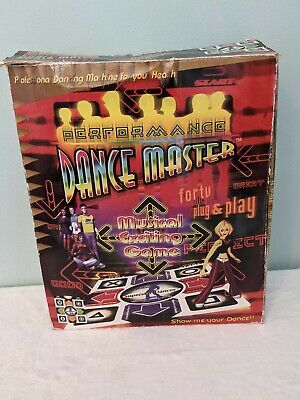 AU27.65 • Buy Dance Master Mat TV Video Game In Box- TESTED WORKING - Sony Licensed Music