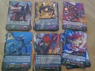 £3.99 • Buy Cardfight Vanguard Lot Kagero Clan 38 Cards Inc R/RR/RRR Flame Of Promise Aermo