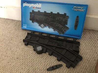 £0.99 • Buy Playmobil Train 4389 Junction Track With Connector. Boxed.