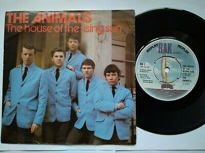 £6.45 • Buy THE ANIMALS  The House Of The Rising Sun + 2 Tracks 1964/65, UK 7 , Excellent