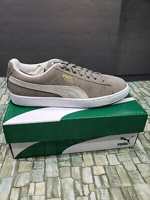 AU77.50 • Buy PUMA Suede Classic  Gray/White Size 9 New In Box