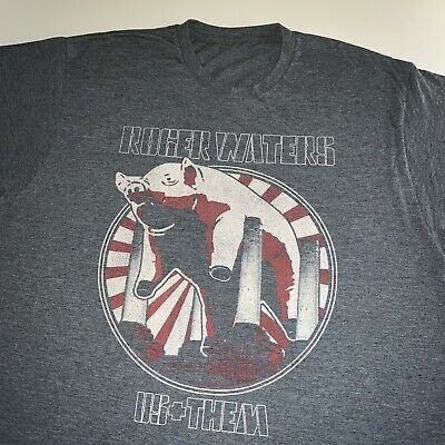 £0.01 • Buy Men's Roger Waters Us And Them 2017 Tour Band Tee Shirt Pink Floyd X Large Rare