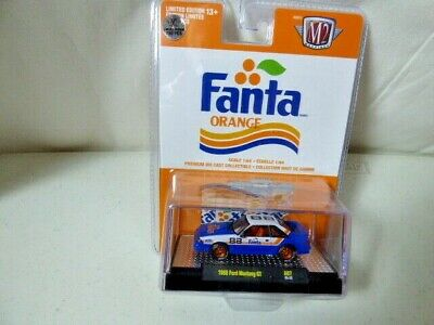 $44.99 • Buy 🔥 M2 Machines 1988 Ford Mustang GT Fanta Chase Rare 1 Of 750 Hunt Car