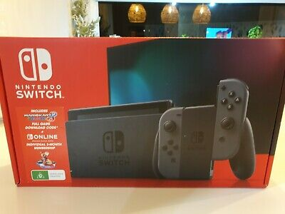 AU250 • Buy AS NEW Nintendo Switch Console Complete With BOX AND WARRANTY. Pokemon Sword Inc