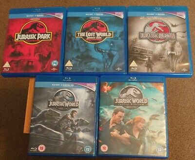£15 • Buy Jurassic Park/world Blu-ray Collection.